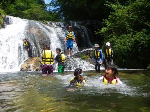 夏休みファミリー水遊び&トレッキングツアー4