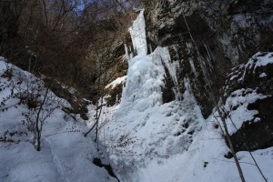 夫婦滝氷瀑トレッキング2
