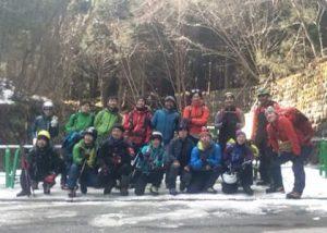 雲竜渓谷氷瀑トレッキング2018ワンプレイト1